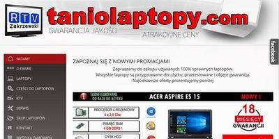 Tanio Laptopy